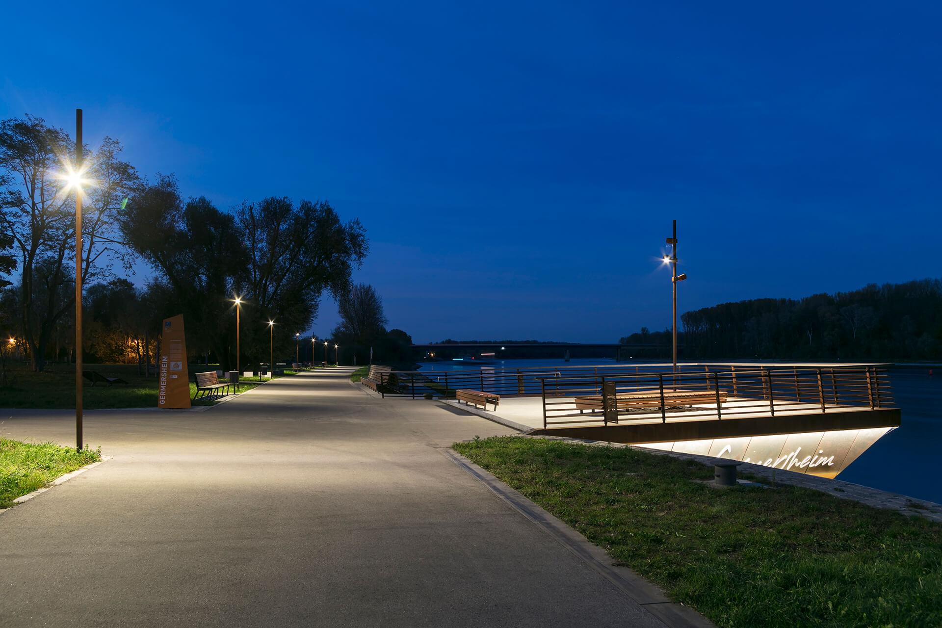 Rheinpromenade Germersheim