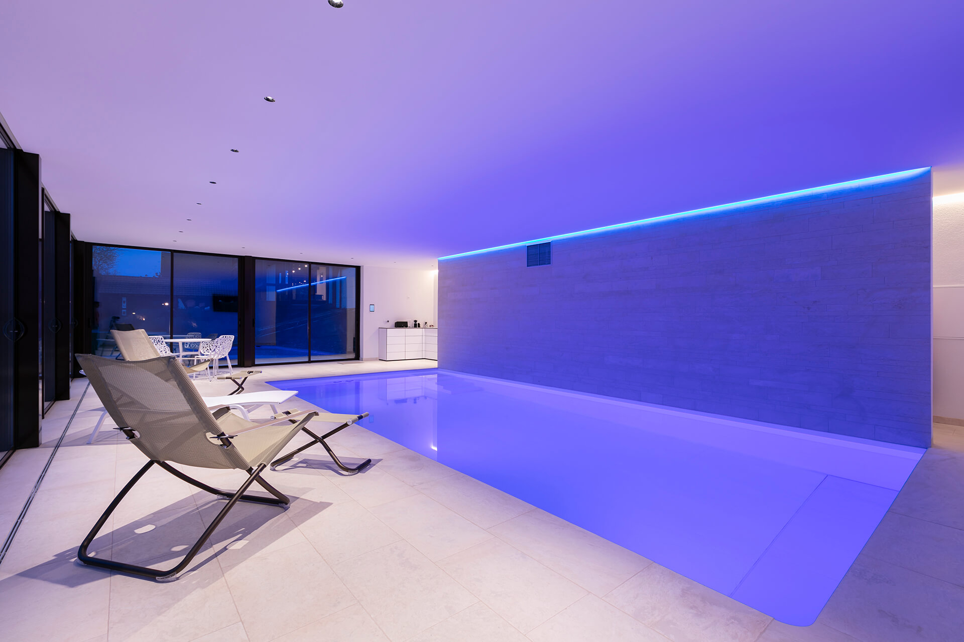 Haus W – Schwimmbad