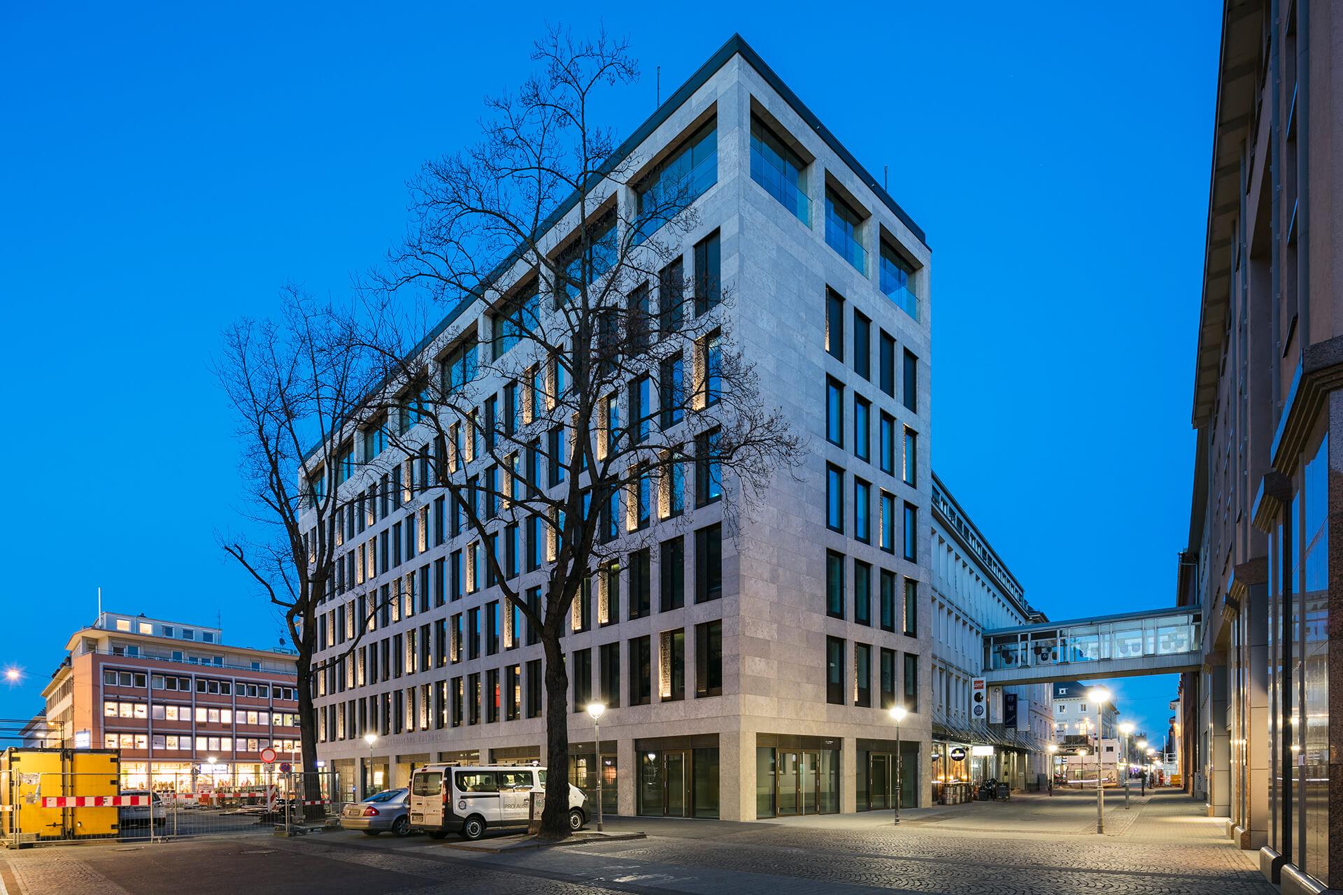 Technisches Rathaus Karlsruhe